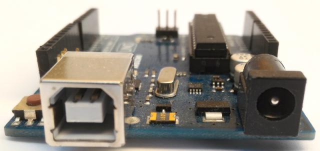 Alimentation et communication de l'Arduino
