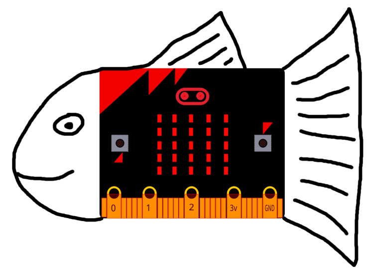 Un poisson d'avril en forme de Microbit