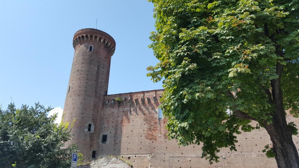 Le château du roi Arduino à Ivrée