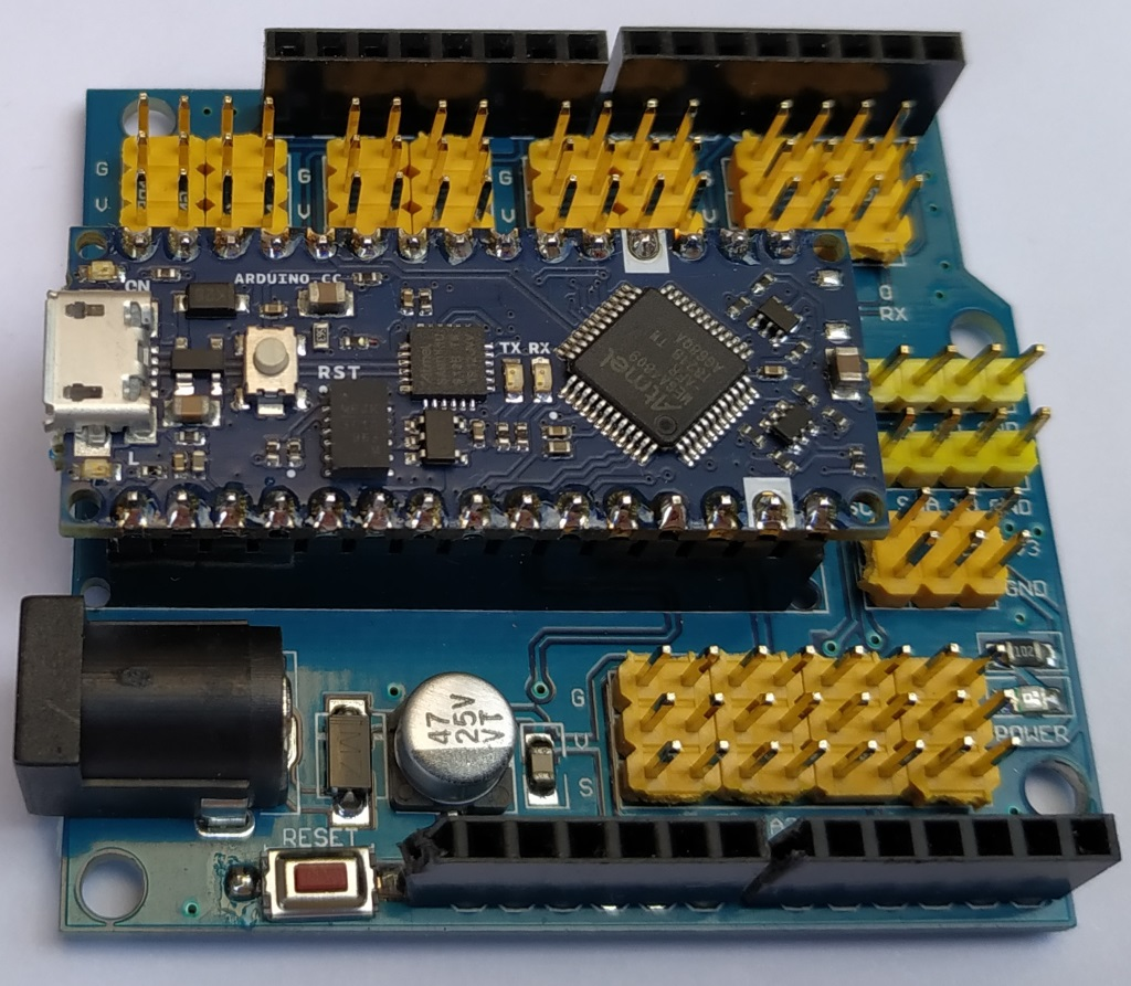 Shield pour Arduino Nano