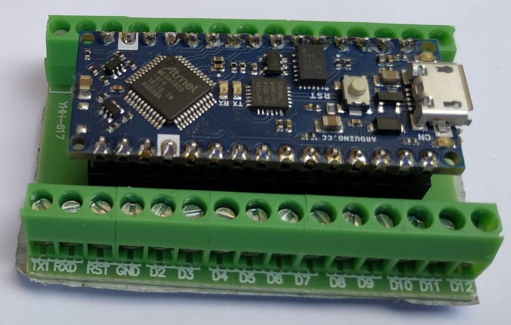Bornier pour Arduino Nano
