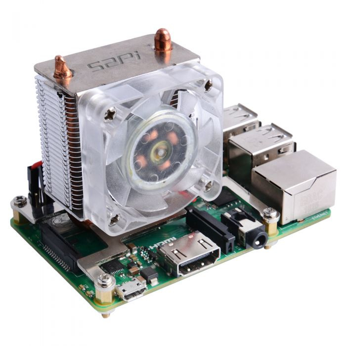 ICE Tower CPU Cooling Fan for Raspberry Pi (Support Pi 4)