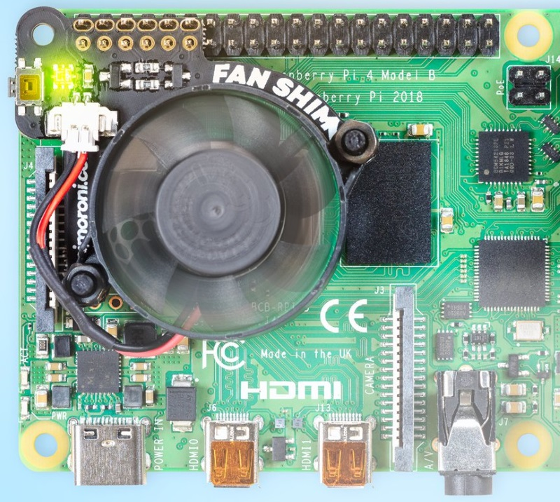 Fan SHIM for Raspberry Pi 4