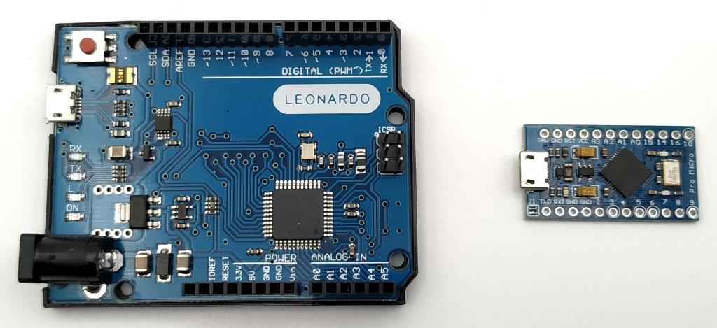 Arduino Leonardo et Arduino Pro Micro