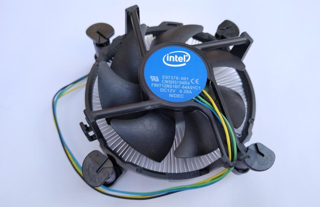 Ventilateur et dissipateur Intel pour I5
