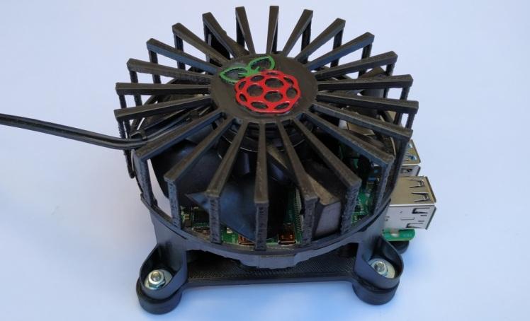 Mon système de refroidissement du Raspberry Pi 4