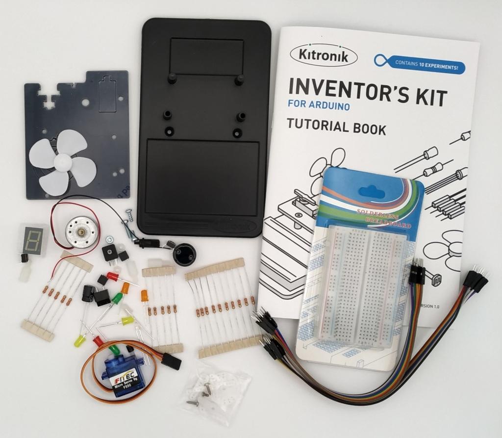 Détail de l'inventor's Kit de Kitronik