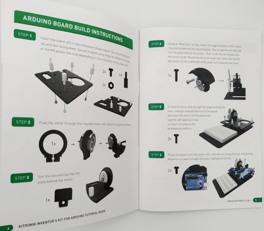 Montage de l'inventor's Kit de Kitronik