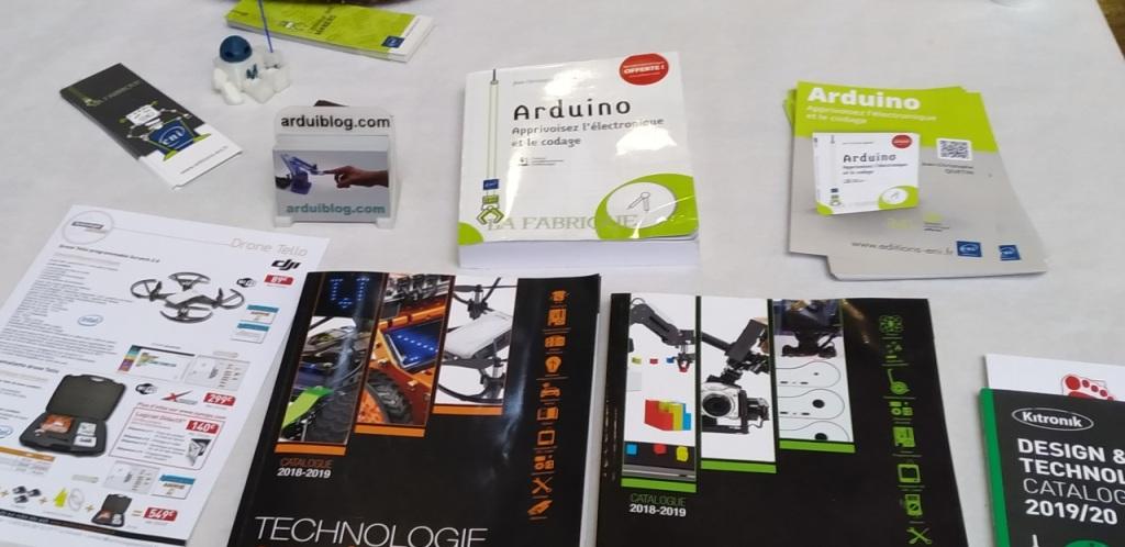 Livre : Arduino, apprivoisez l'électronique et le codage
