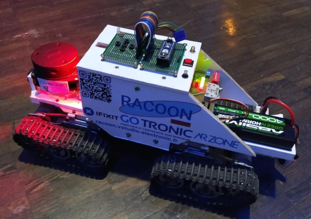Le robot Racoon