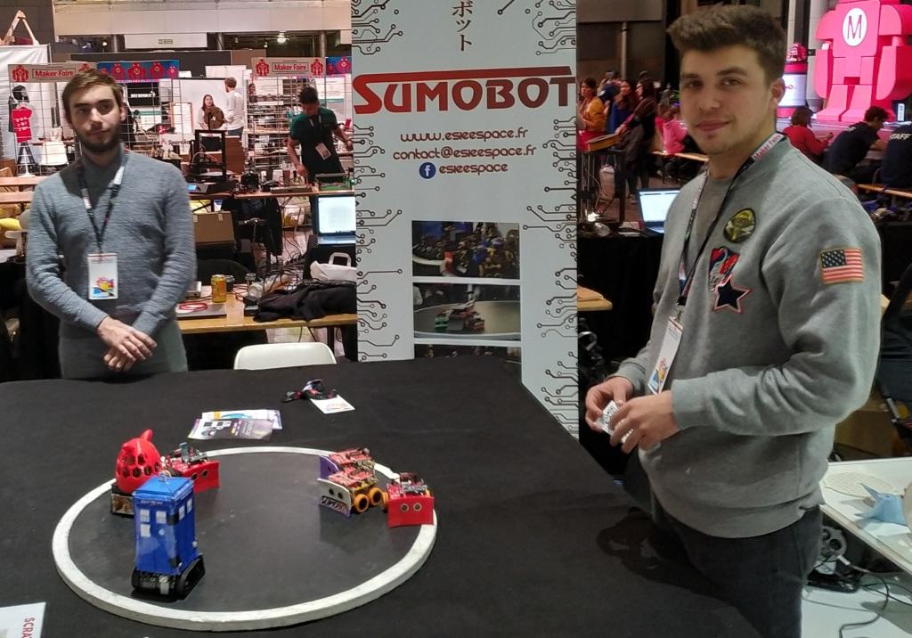 Les robots sumo