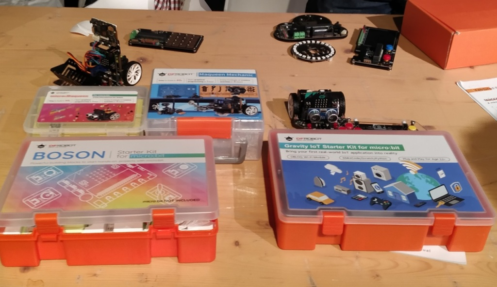 Les robots et modules Microbit de DF Robot