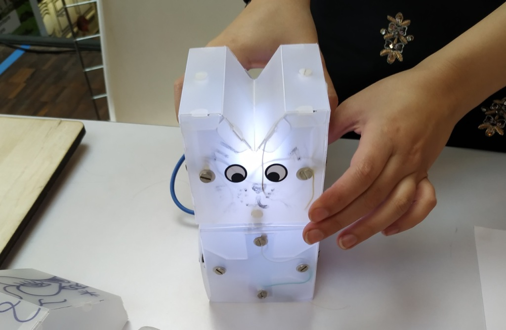 Lampe en kit de Kutikuti