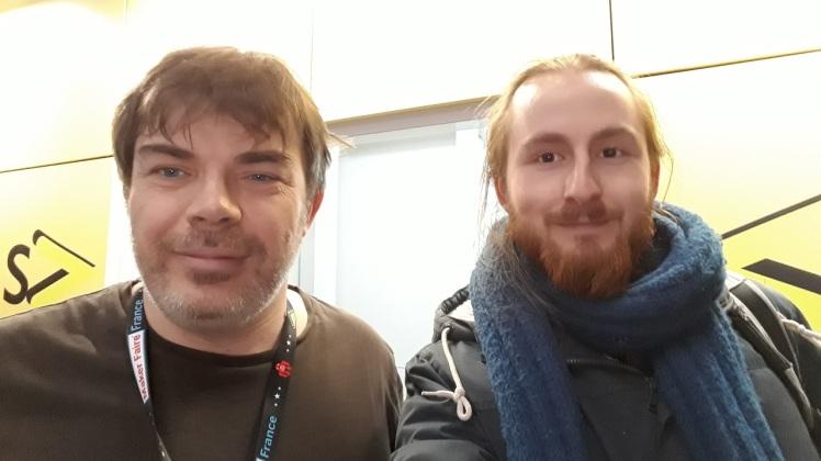 Frédéric Pierson et Léo BRIAND