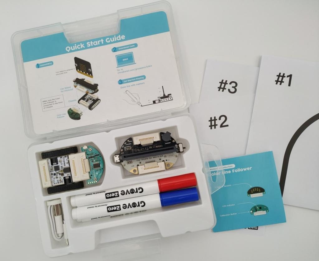 La boite du  Bit Kit Micro:Car