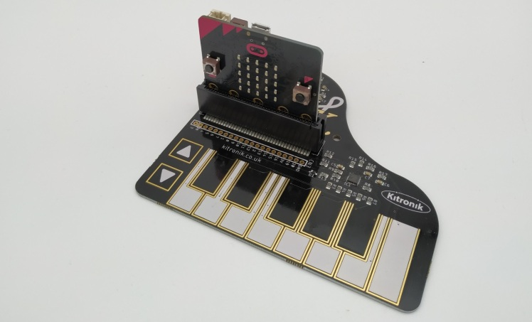 KLEF Piano, une carte d'extension pour Micro:Bit