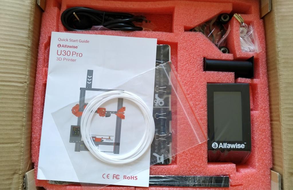 Déballage de l'Alfawise U30 Pro