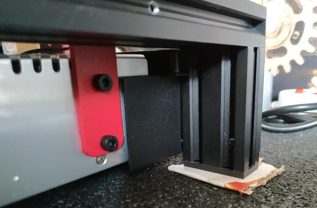 Calage de l'imprimante