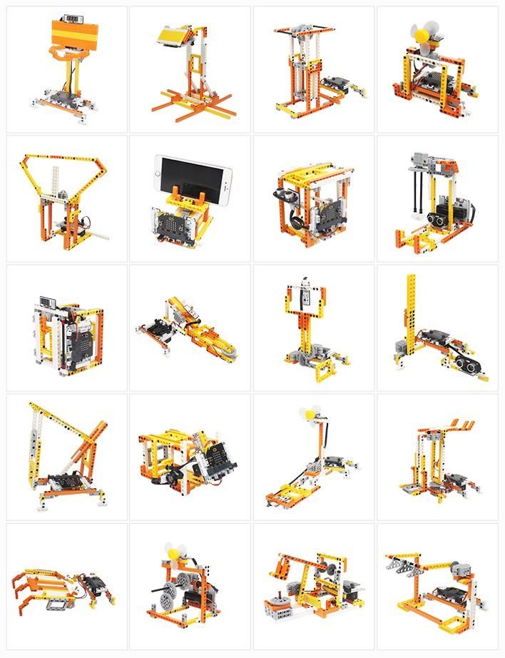 Exemples de machine à fabriquer avec le kit DaDa:bit