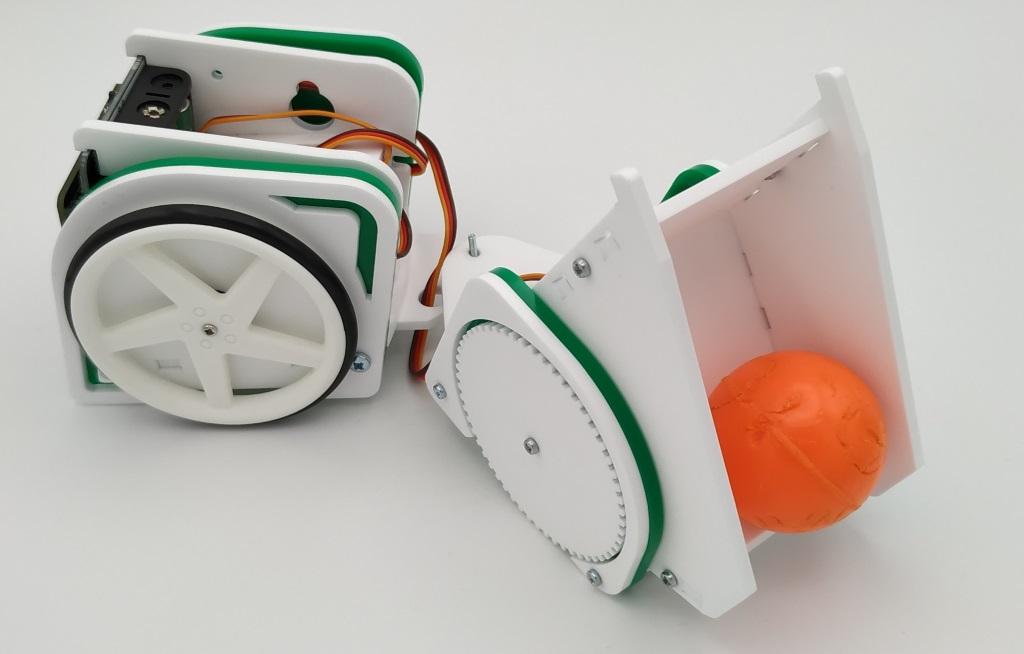 L'extension remorque du robot MOVE mini