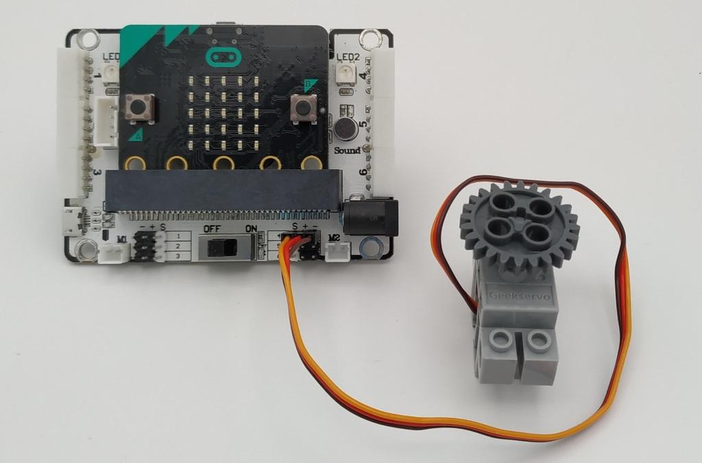 Utilisation du servomoteur avec le Kit DaDa:bit