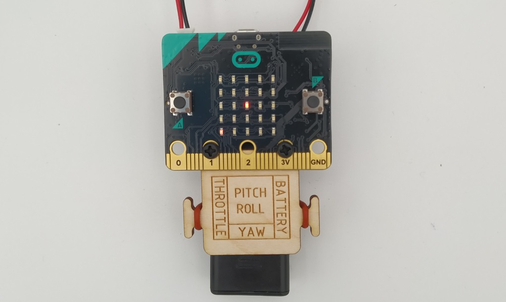 La télécommande du kit Air:bit