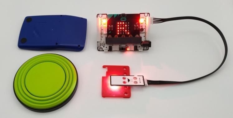 Utilisation du capteur à reconnaissance de couleurs avec le Kit DaDa:bit