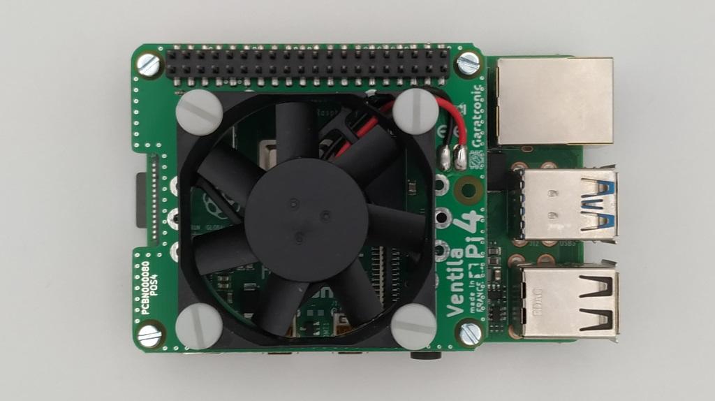 Le ventilateur silencieux de Garatronic pour le Raspberry Pi 4