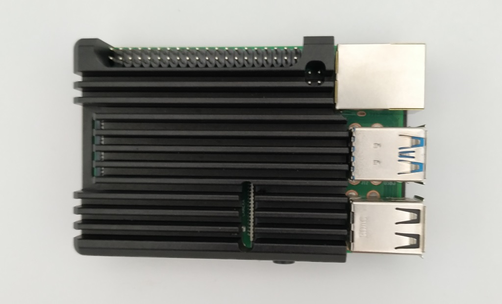 Le boitier en aluminium du Raspberry Pi 4