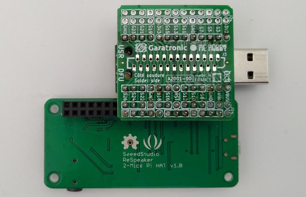 branchement d'un Hat à 40 connecteurs à la HatFace