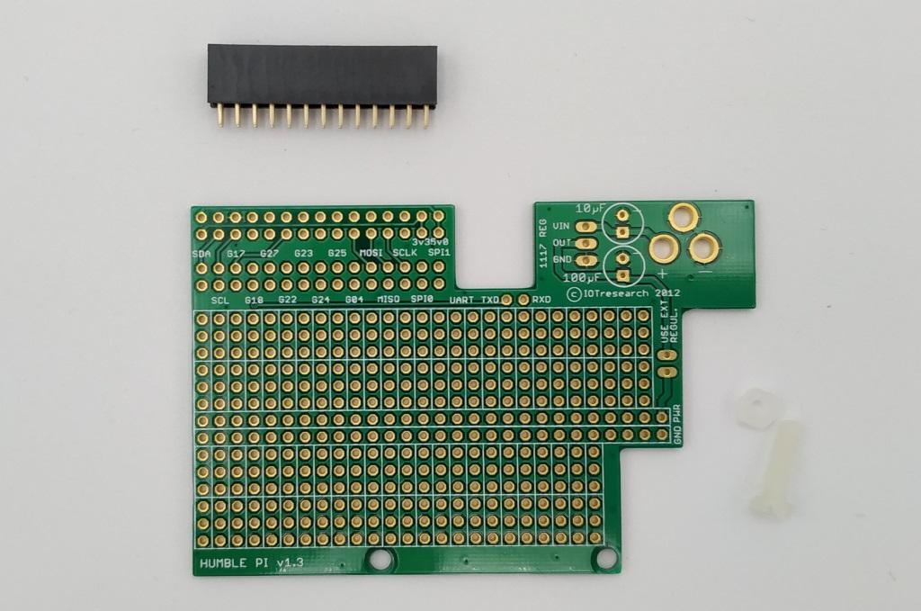 Platine d'essai au format Hat (26 connecteurs)