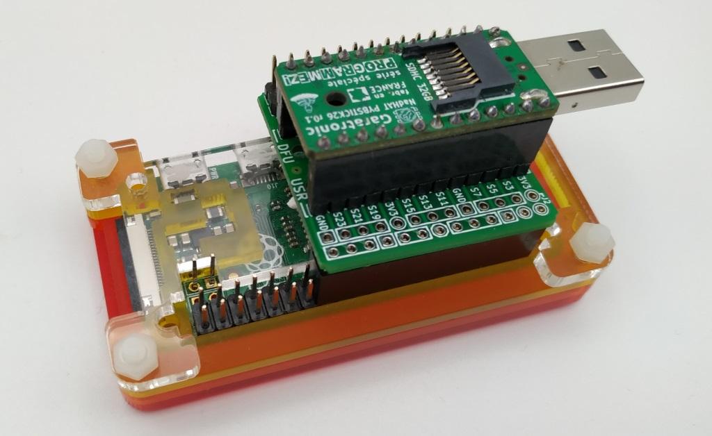 Branchement de la HatFace au Raspberry Pi