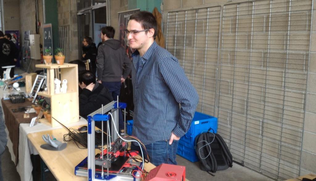 Benoît Jellimann (BenTek) à la Makerfight 2019