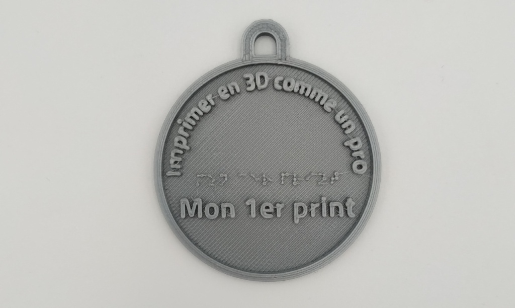 "Médaille ""Mon 1er print"""