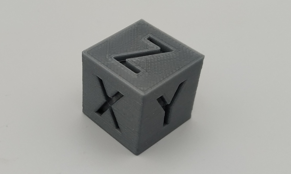 Cube de Calibration