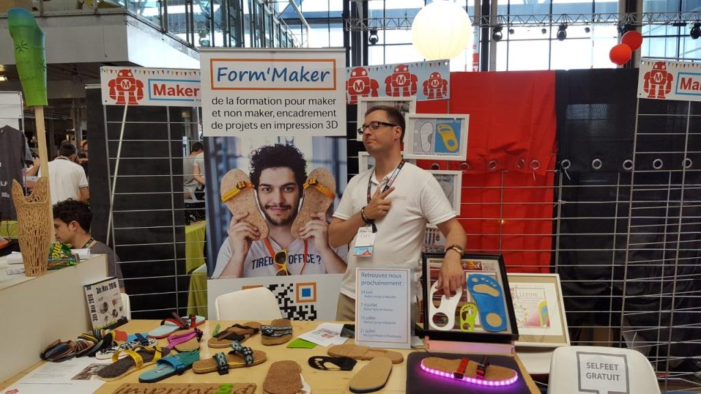 Frédéric FRANKEN à la Maker Faire