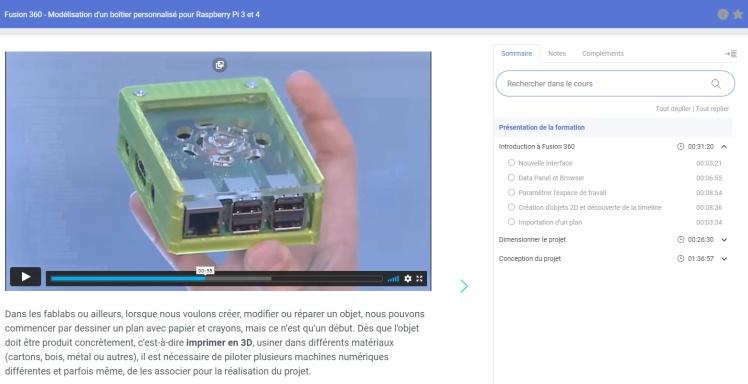 Vidéo de Frédéric FRANKEN sur la création d'un boitier pour Raspberry pi