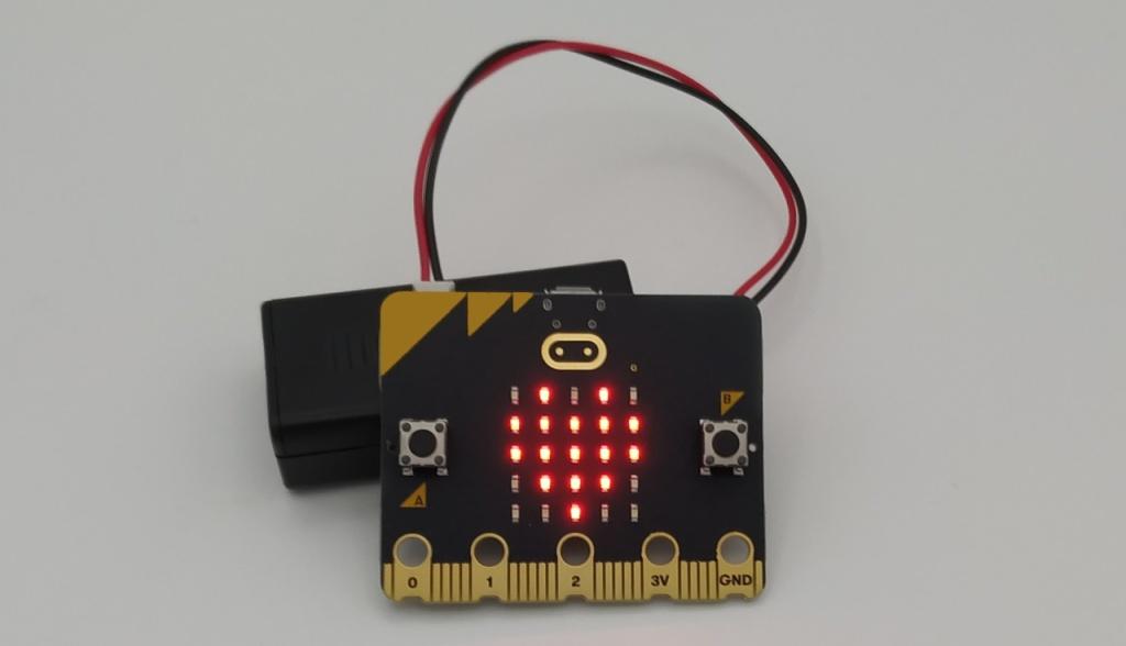 Premiers tests du micro:bit V2