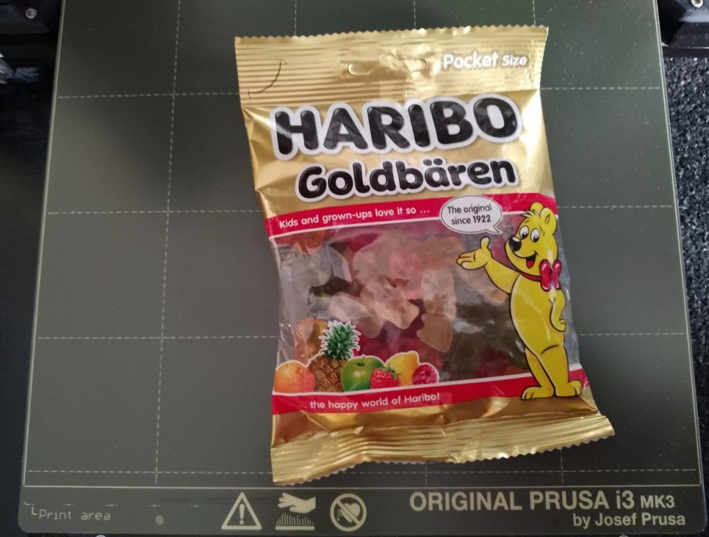 Bonbons Haribo avec la Prusa i3 MK3S