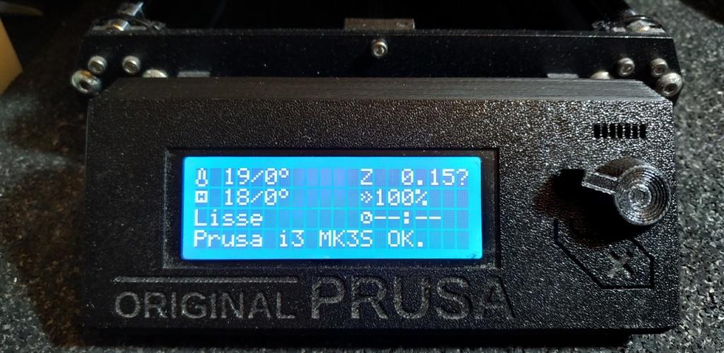 L'afficheur LCD de la Prusa i3 MK3S