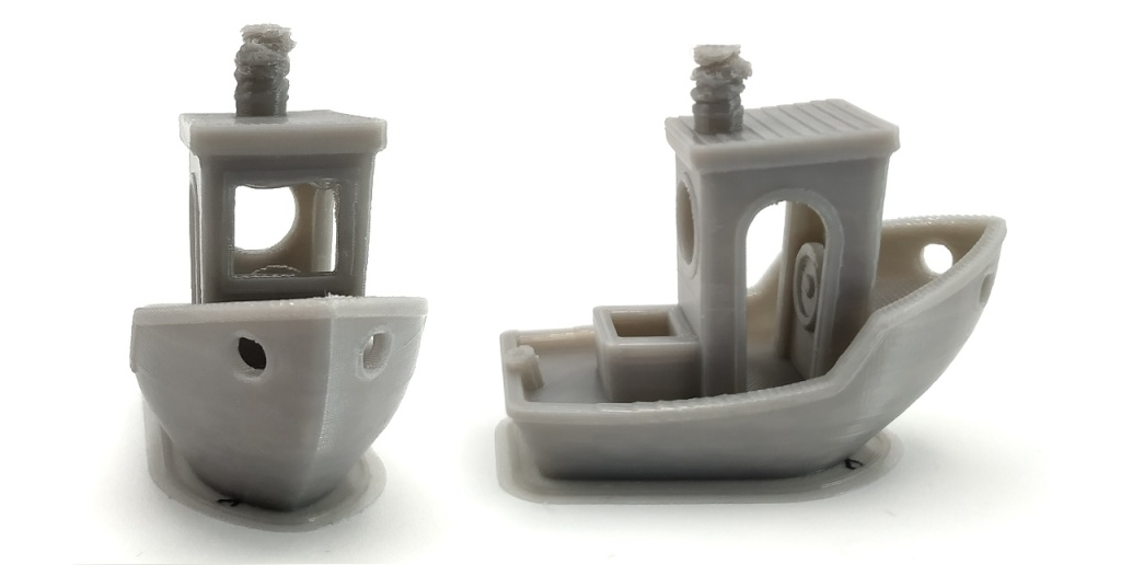Benchy correct en filament flexible (TPU)