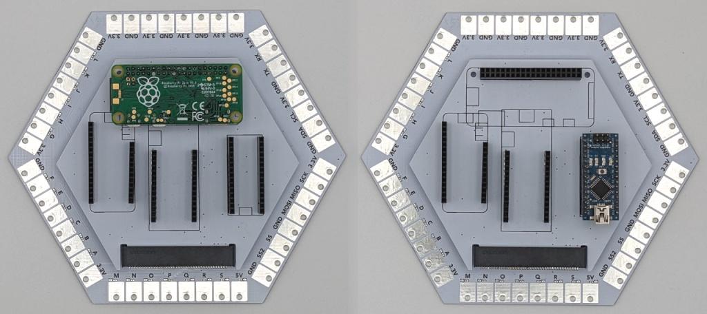 Les modules Space Station et Shuttle avec un Raspberry Pi Zero et un Arduino Nano