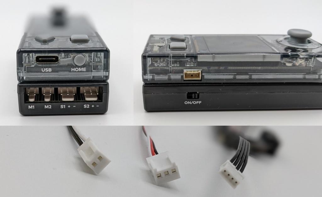 Les différents connecteurs compatibles