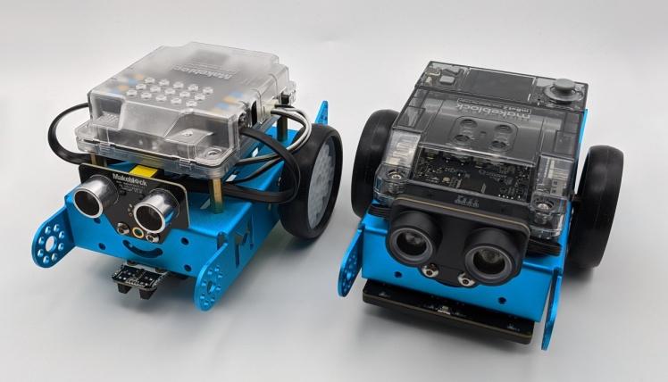 Robot mBot 1 et 2