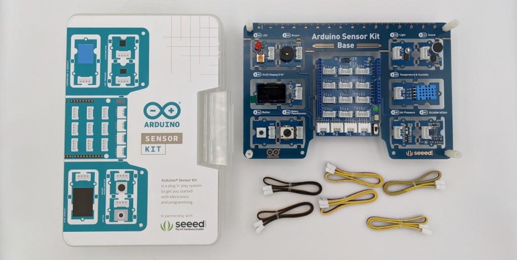 Déballage de l'Arduino Sensor Kit