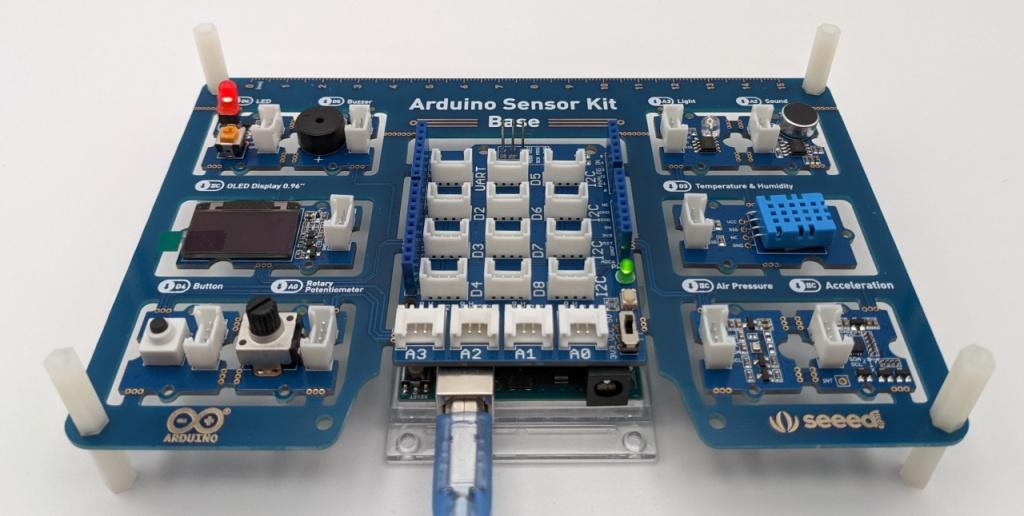 Clignotement de LED avec la base de l'Arduino Sensor Kit