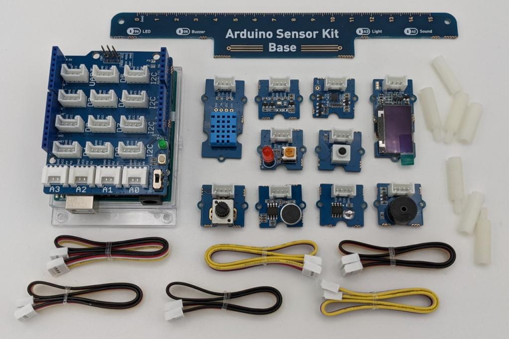 L'Arduino Sensor Kit (Modules séparés)