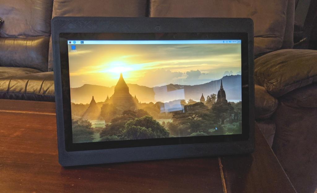La Diskio Pi en mode tablette
