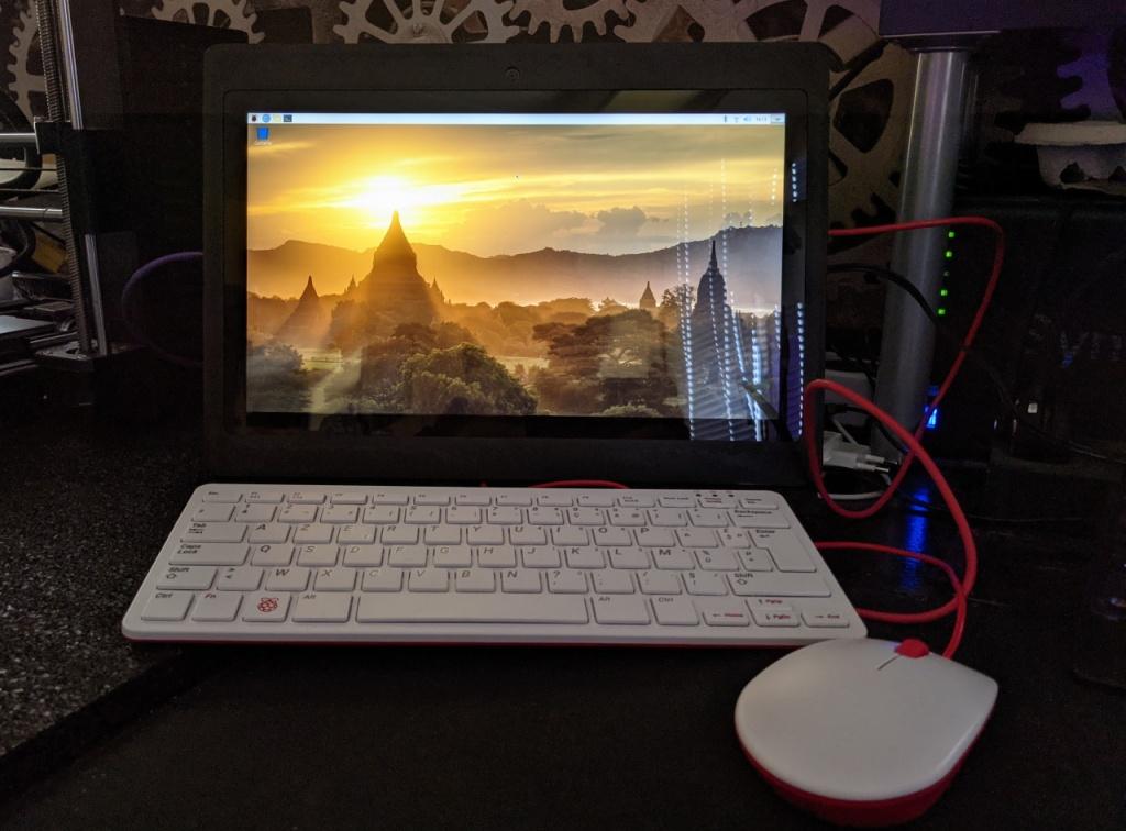 Utilisation de la Diskio Pi avec un clavier et une souris