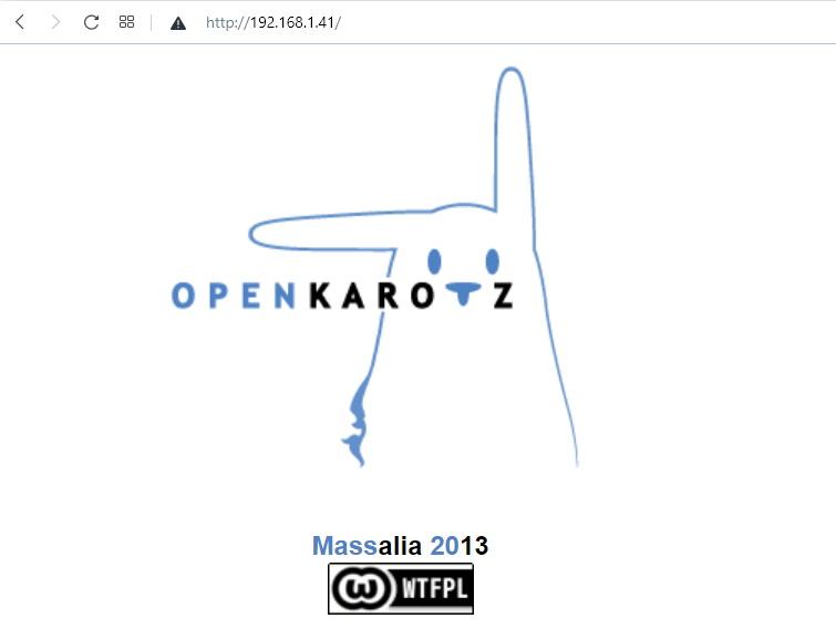 Connexion au Karotz